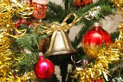 christmas decorations various Στοκ εικόνες με δικαίωμα ελεύθερης χρήσης
