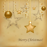 Christmas Decorations. Vector Stock Photo