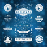 Christmas Decorations Vector Design Elements Stock Images