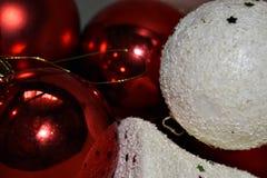 Christmas Decorations Wallpaper.  Stock Photos