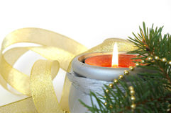 christmas decorations white Στοκ εικόνες με δικαίωμα ελεύθερης χρήσης