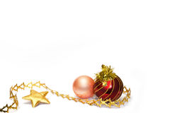 Christmas decorations Stock Photos