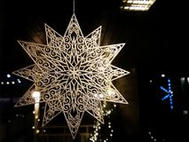 Christmas decorations in Finland royalty free stock photo