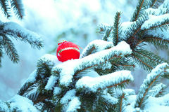 Christmas decorations. Decorations winter old town snow Royalty Free Stock Image