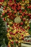 Christmas decorations, wreaths and balls, new year holiday. Christmas decorations, wreaths and balls, new year holiday royalty free stock photography