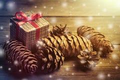 Christmas decorations. Xmas holiday concept. Royalty Free Stock Photo