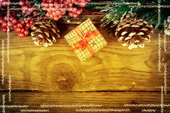 Christmas decorations. Xmas holiday concept. Royalty Free Stock Images