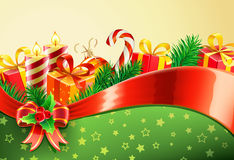 Christmas decorative background Royalty Free Stock Photos