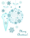 Christmas decorative background Stock Images