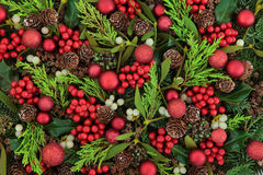 Christmas Decorative Background Royalty Free Stock Photo