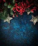 Christmas decorative background Stock Photo