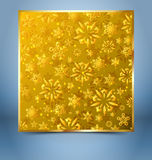 Christmas decorative background template Stock Photography