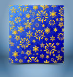 Christmas decorative background template Royalty Free Stock Images