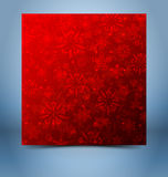 Christmas decorative background template Royalty Free Stock Photo