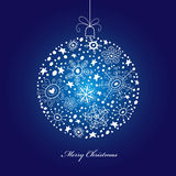 Christmas decorative ball Stock Photography