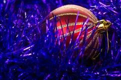 Christmas decorative ball Stock Photos