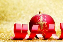 Christmas decorative ball Stock Photography
