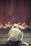 Christmas decorative ball Stock Images