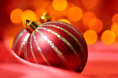Christmas decorative balls Stock Image