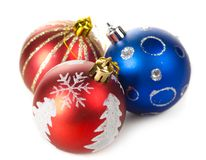 Christmas decorative balls Stock Image