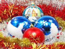 Christmas decorative balls. Royalty Free Stock Photography