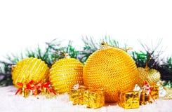 Christmas decorative balls Royalty Free Stock Images