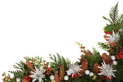 Christmas Decorative Border Stock Image