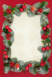 Christmas Decorative Border Stock Photos
