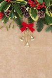 Christmas Decorative Border Royalty Free Stock Images