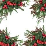 Christmas Decorative Border Royalty Free Stock Images