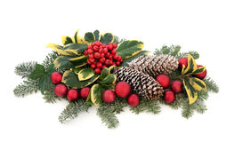 Christmas Decorative Display Royalty Free Stock Photography