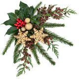 Christmas Decorative Display Royalty Free Stock Photo