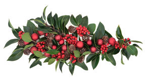 Christmas Decorative Display Royalty Free Stock Images