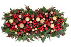 Christmas Decorative Display Royalty Free Stock Photos