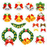 Christmas decorative Icons sets. Creative Icon Design Series. Royalty Free Stock Photo