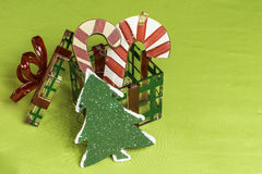 Christmas Decorative Items Stock Images