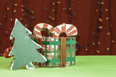 Christmas Decorative Items Royalty Free Stock Images