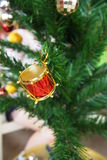 Christmas decorative items Royalty Free Stock Photography