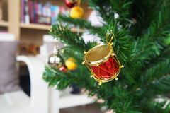 Christmas decorative items Stock Photos