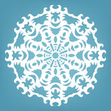 Christmas decorative lace ornament Stock Photo