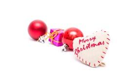 Christmas decorative ribbon Stock Image