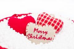Christmas decorative ribbon Royalty Free Stock Images