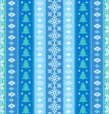 Christmas decorative seamless pattern Stock Photography