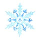 Christmas decorative snowflake Royalty Free Stock Photo