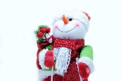 Christmas decorative snowmen Stock Photos