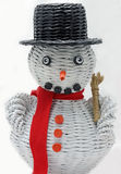 Christmas decorative snowmen Royalty Free Stock Image