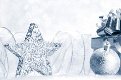 Christmas decorative star Stock Image
