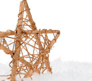 Christmas decorative star Royalty Free Stock Image