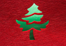 Christmas decorative tree Royalty Free Stock Images
