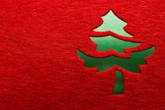 Christmas decorative tree Royalty Free Stock Photo